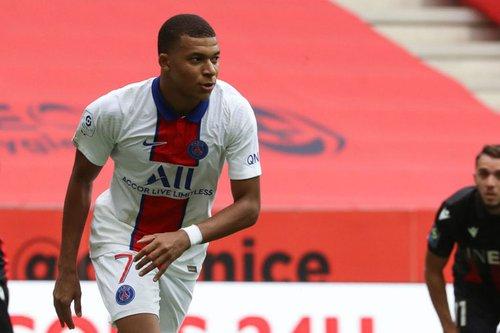PSG golea al Niza en regreso de Kylian Mbappé a la alineación