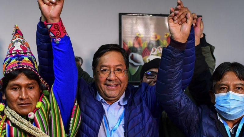 Movimiento al Socialismo gana elecciones en Bolivia con el 55,10% de los votos La Paz. TELESUR