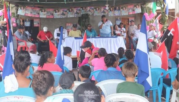 Gobierno sandinista garantiza energía a familias del Triángulo Minero Managua. Radio La Primerísima