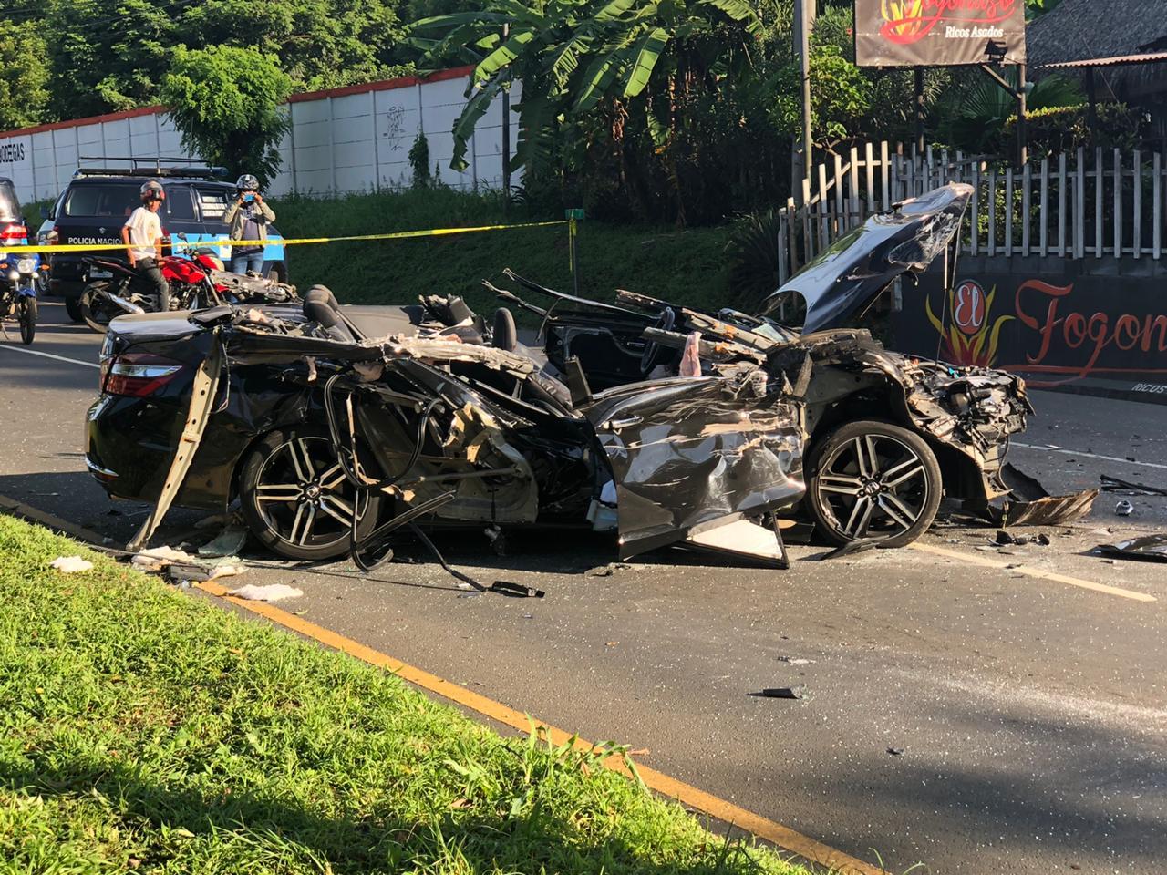 Salvadoreño fallece en brutal accidente en Managua Managua. Radio La Primerísima