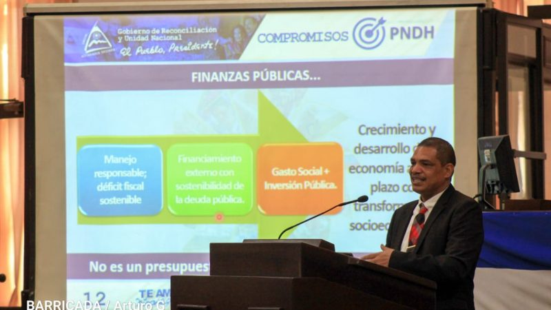 Inversión social es prioridad del Gobierno Sandinista, reafirma ministro Acosta Managua. Radio La Primerísima