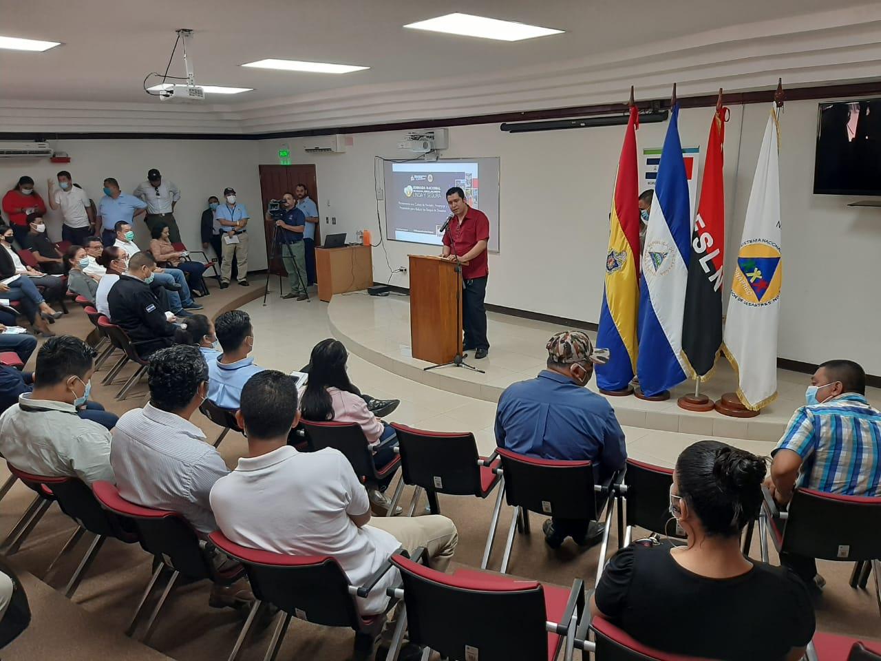 Nicaragua uno de los países más avanzados en prevención de riesgo Managua. Por Jaime Mejía