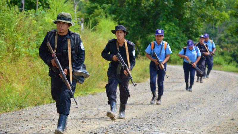 Policía fortalece seguridad en Bosawás Managua. Radio Uraccan Siuna