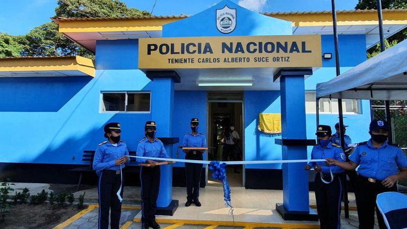 Inauguran estación policial número 35 en Nandasmo, Masaya Managua. Radio La Primerísima