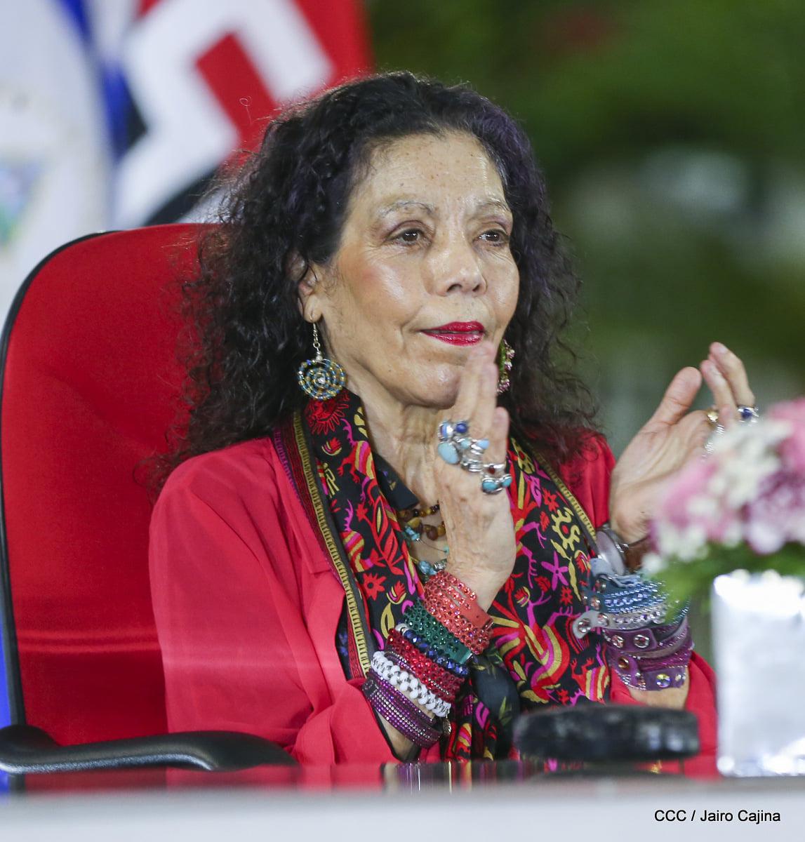 Somos parte de una historia grandiosa y no conocemos la cobardía Por Rosario Murillo, Vicepresidenta de Nicaragua (*)
