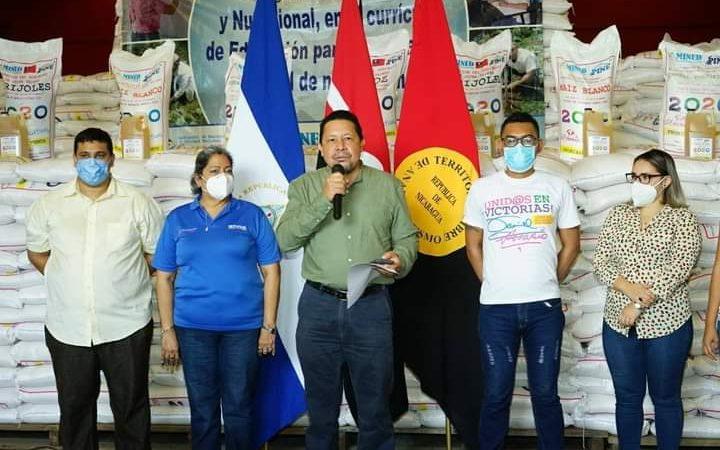 Mined distribuye Merienda Escolar Managua. Por Douglas Midence/Radio La Primerísima