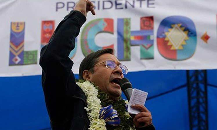 El desafío es reconstruir Bolivia, afirma presidente electo Luis Arce La Paz. Prensa Latina