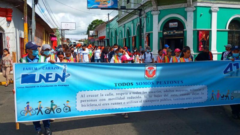 Lanzan campaña de prevención de accidentes de tránsito en Carazo Managua. Por Manuel Aguilar/Radio La Primerísima