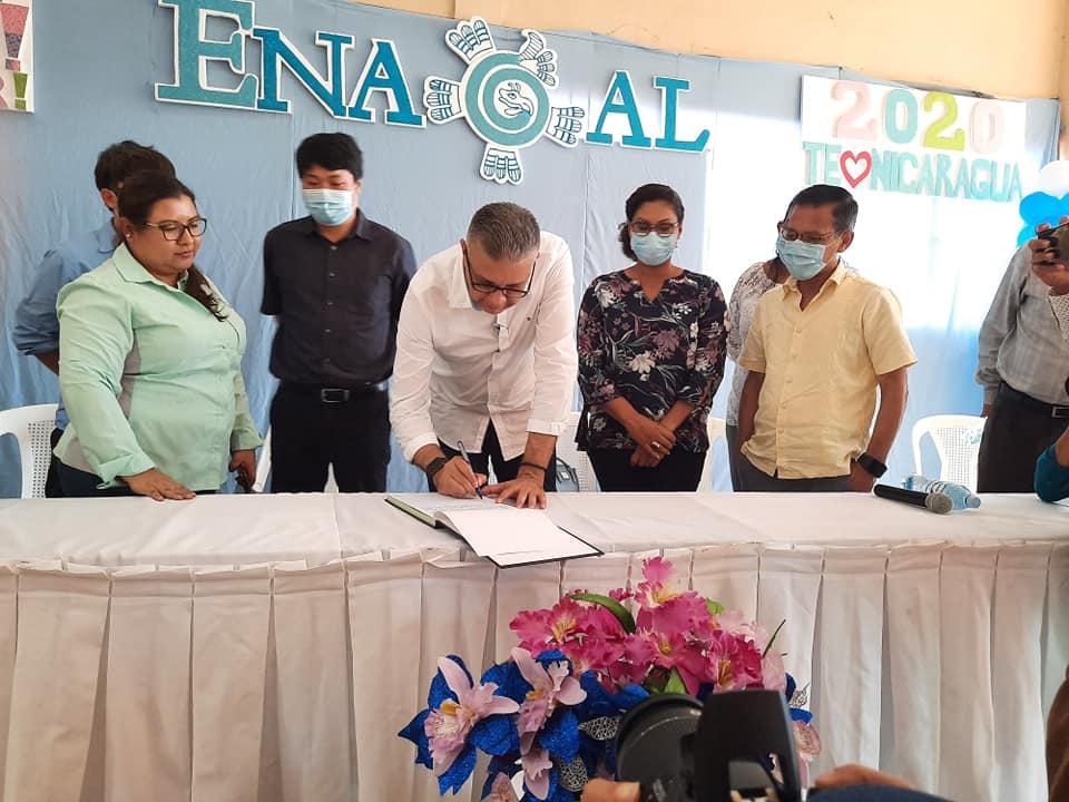 Inicia construcción del alcantarillado sanitario y planta de tratamiento en Bluefields Managua. Radio La Primerísima