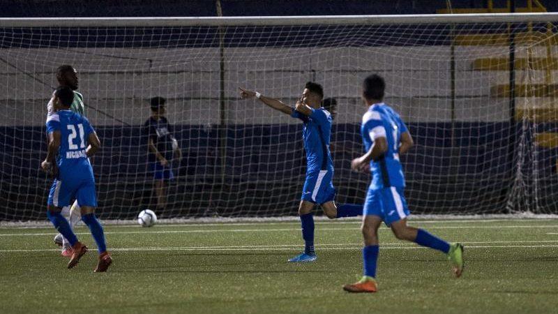 Nicaragua a punto de ganarle a Honduras en amistoso de fútbol Managua. Prensa Latina.