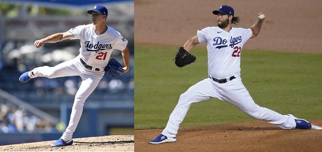 Manager de los Dodgers anuncia lanzadores de los juegos 1 y 2 contra los Bravos