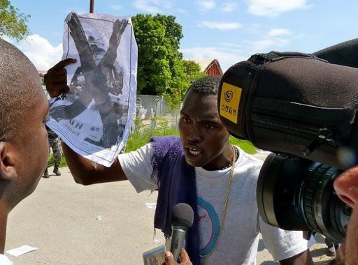 Haitianos víctimas de cólera denuncian a Naciones Unidas Puerto Príncipe. Prensa Latina