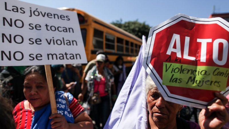 Guatemala registra 319 feminicidios y más de 5.600 denuncias por violación sexual durante este año Ciudad de Guatemala. Agencias.