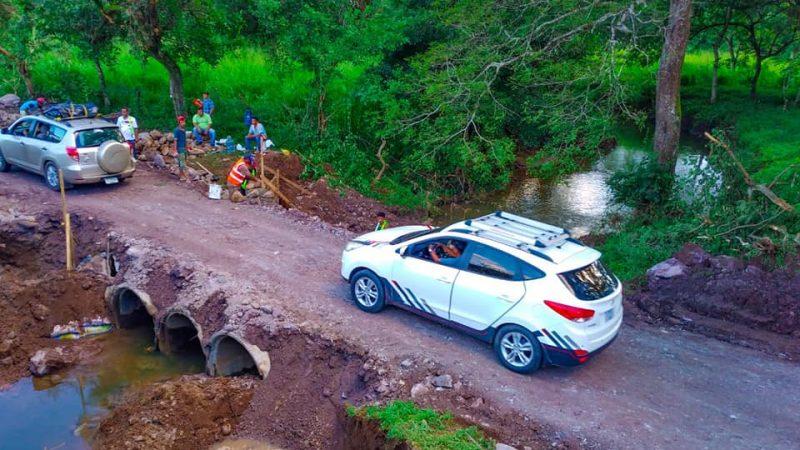 Finaliza construcción de puente alternativo en Achuapa Managua. Radio La Primerísima.