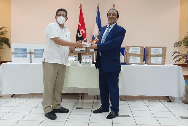 MINSA recibe donación de insumos médicos de parte de Qatar Managua. Radio La Primerísima