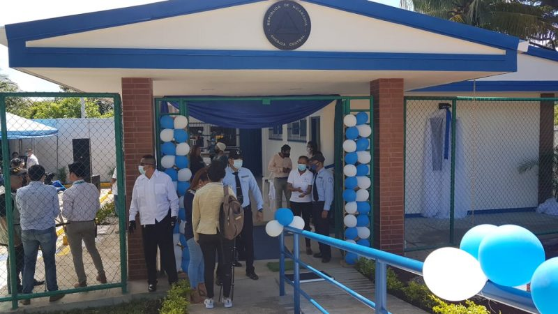 Pobladores de San Juan del Sur estrenan Casa de Justicia Managua. Por Libeth González/Radio La Primerísima