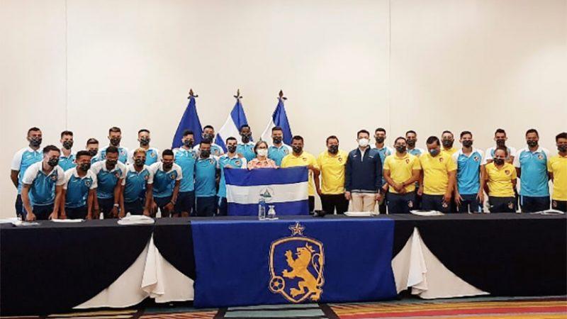 Selección Azul t Blanco representará a Nicaragua en ronda preliminar de CONCACAF Managua. Radio La Primerísima