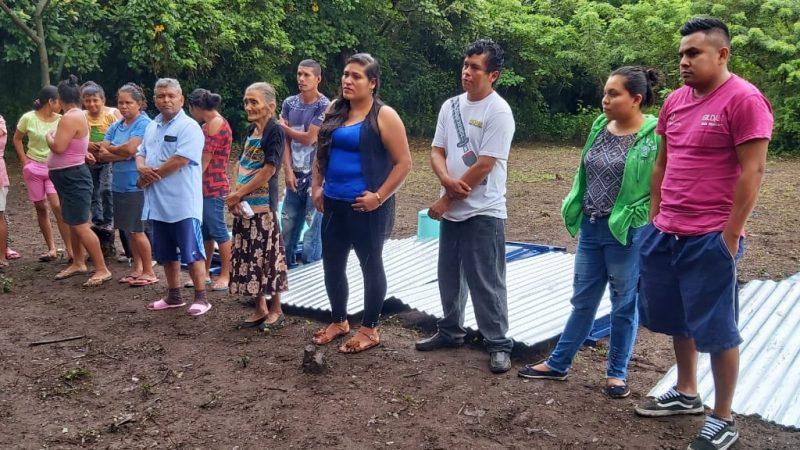 Alcaldía de San Marcos entrega letrinas ecológicas Managua. Manuel Aguilar. Radio La Primerísima