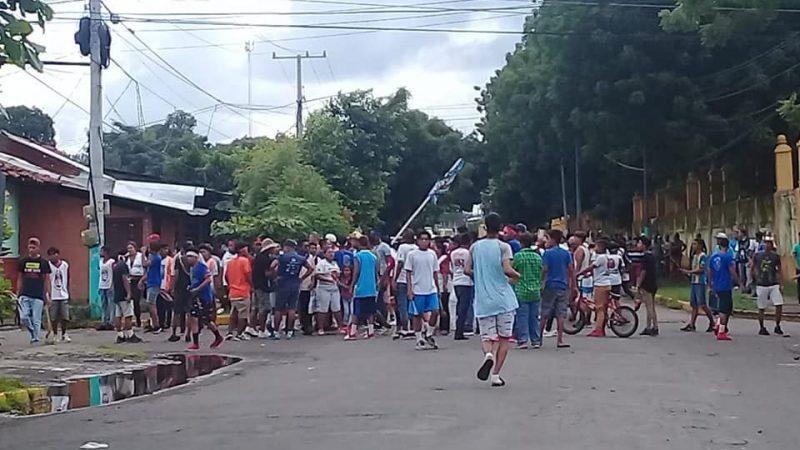 Trifulca por San Jerónimo deja un lesionado en León Managua. Radio La Primerísima