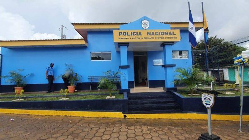Inauguran nueva estación policial en Dolores, Carazo Managua. Por Jerson Dumas/Radio La Primerísima