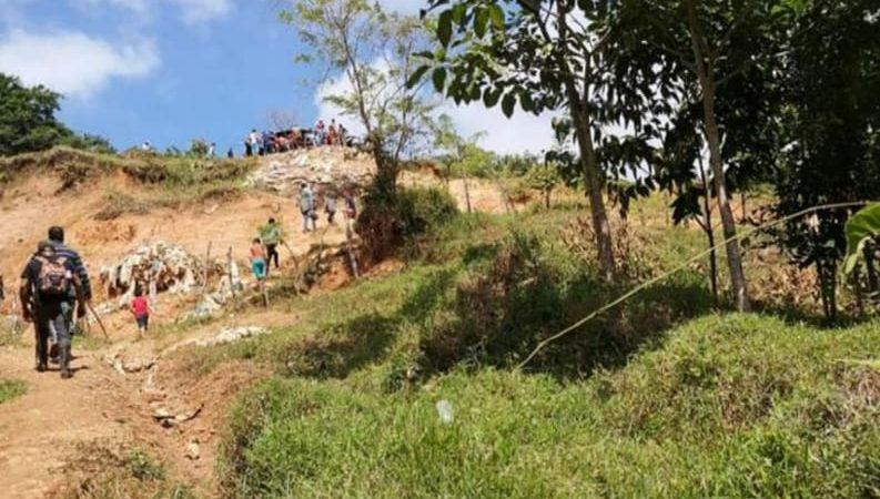 Joven minero muere soterrado en Santo Domingo, Chontales Managua. Por Alexander Hurtado/Radio La Primerísima