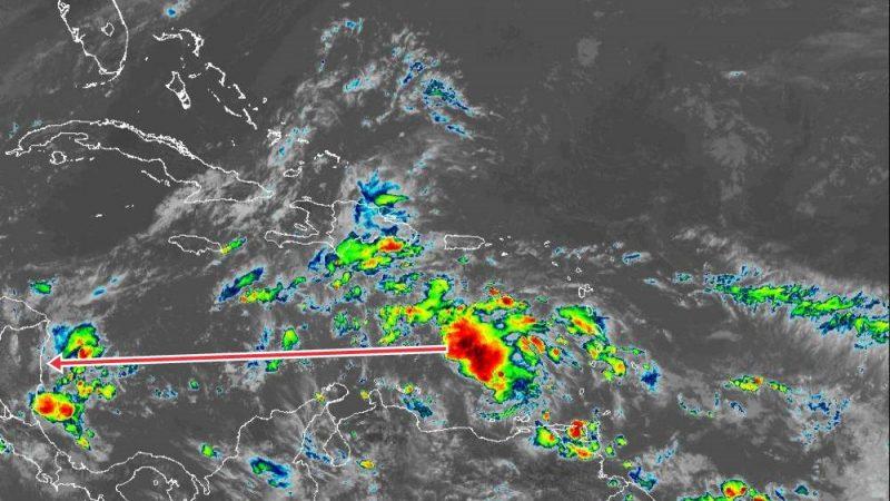 INETER vigila disturbio tropical que podría afectar Nicaragua Managua. Radio La Primerísima