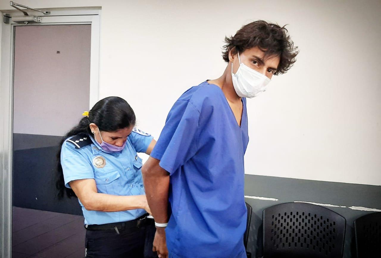 Prisión preventiva para sujeto acusado de asesinar a ciudadano en Managua Managua. Por Jerson Dumas