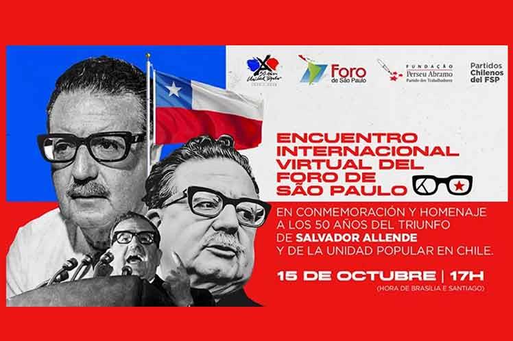 Recuerdan la victoria electoral de Salvador Allende Brasilia. Prensa Latina