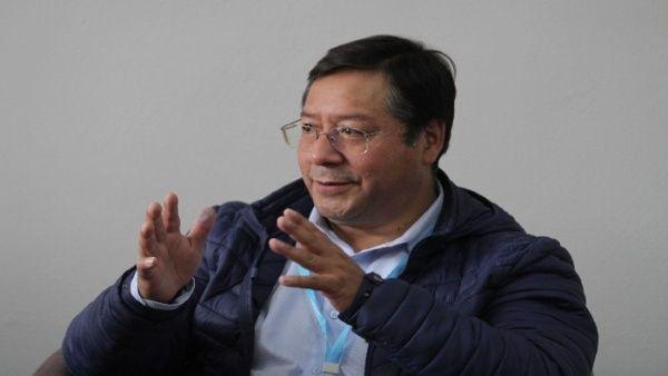 Luis Arce anuncia pago del Bono contra el Hambre en Bolivia La Paz. Agencias