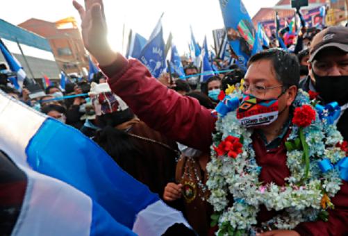 TSE declara oficialmente como presidente electo de Bolivia a Luis Arce La Paz. TELESUR