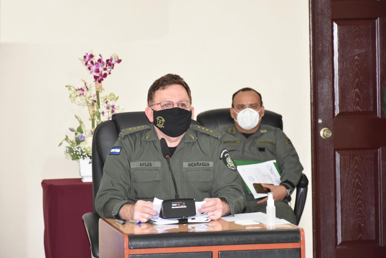 El trabajo de inteligencia es vital para garantizar la paz, destaca General Avilés Managua. Radio La Primerísima