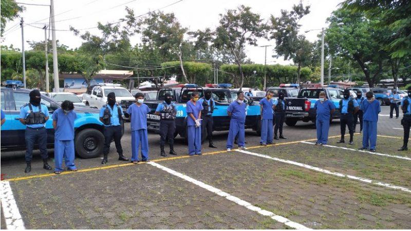 """Policía desarticula banda delincuencial """"Chimino"""" en Managua Managua. Radio La Primerísima"""