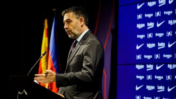 Bartomeu renuncia a presidencia del Barcelona Barcelona. ESPN Deportes