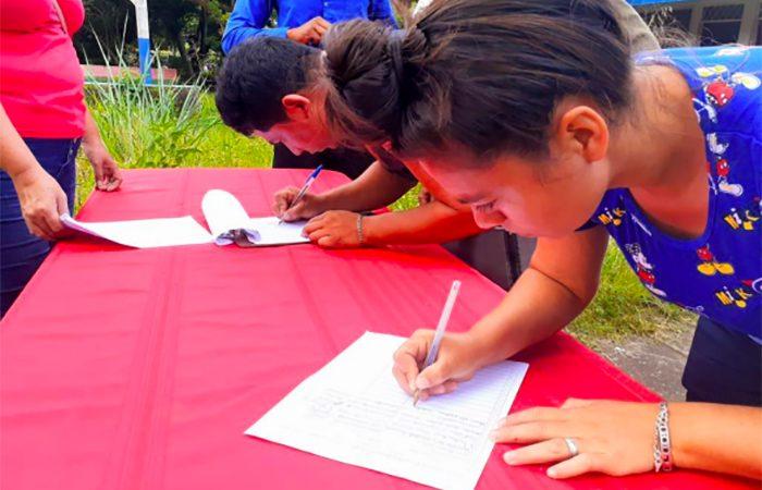 Millones de firmas apoyan ley de cadena perpetua Managua. Radio La Primerísima