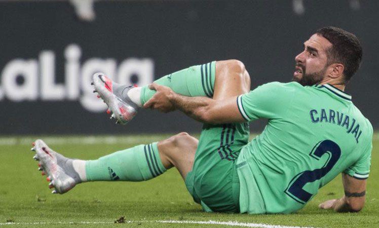 Real Madrid pierde a Dani Carvajal por lesión