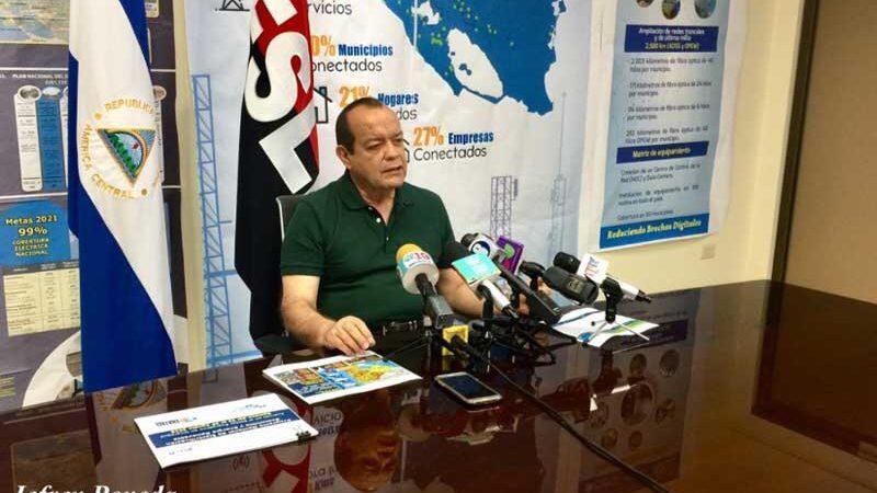 Récord en cobertura eléctrica Managua. Radio La Primerísima