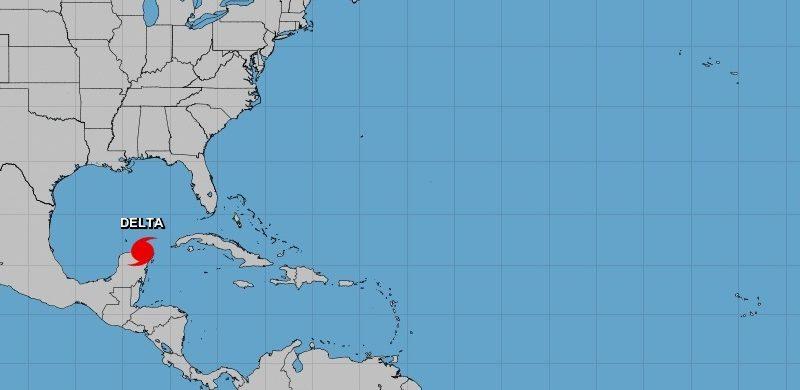 Delta entró degradado a categoría 3 en México, pero con fuertes vientos Ciudad México. Prensa Latina