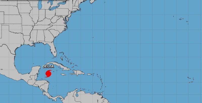 Huracán Delta alcanza categoría cuatro en escala Saffir-Simpson La Habana. Prensa Latina