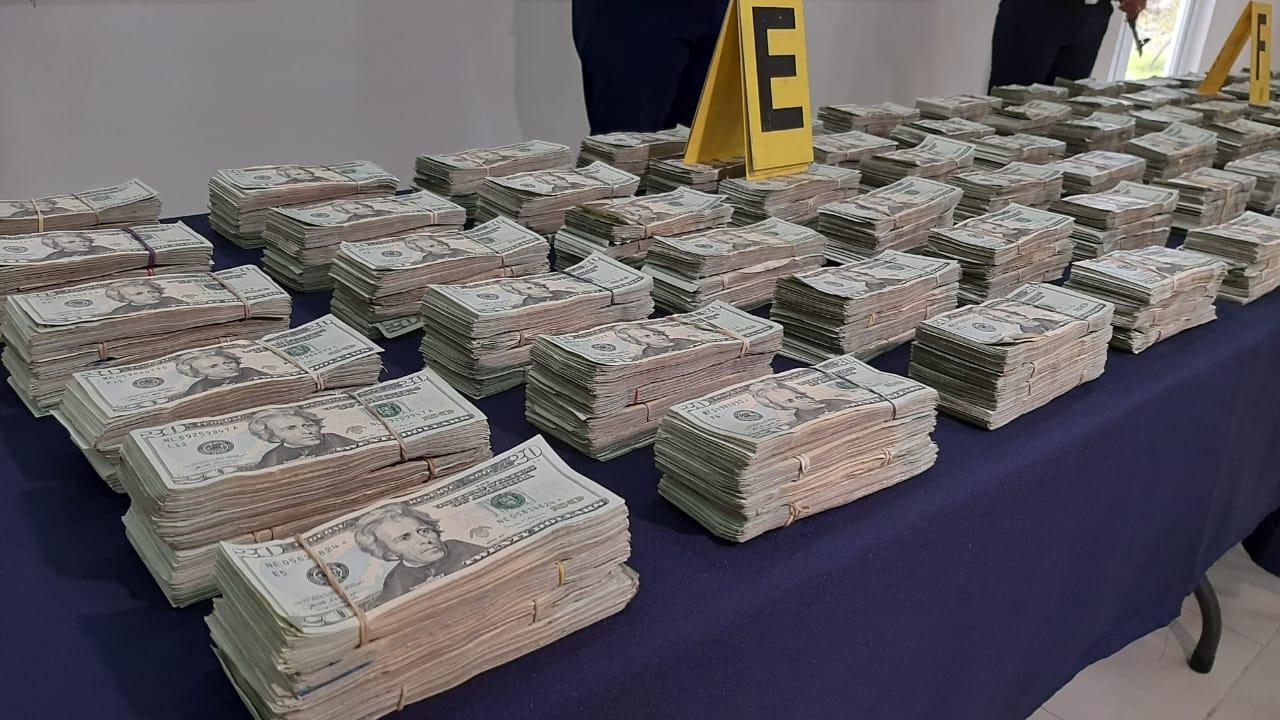 Policía incauta 578 mil dólares a bordo de cabezal en Rivas Managua. Por Jerson Dumas/Radio La Primerísima