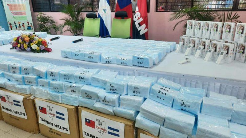 Taiwán dona al MINSA mascarillas quirúrgicas y termómetros digitales Managua. Radio La Primerísima