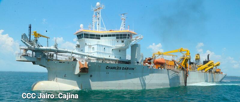 Dragado mejora operaciones en Puerto Corinto Managua. Por Jaime Mejía/Radio La Primerísima