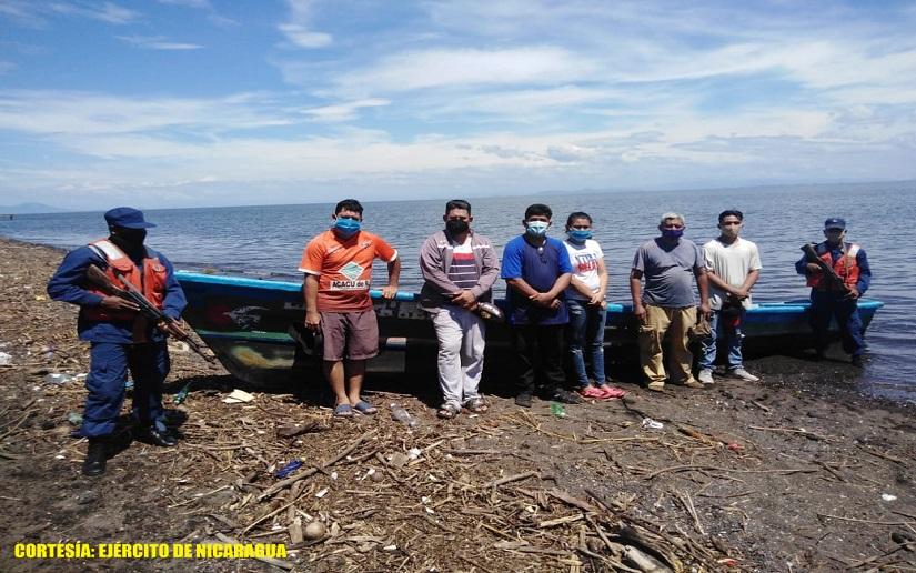 Retienen a seis personas que pretendían salir por paso no autorizado hacia El Salvador Managua. Radio La Primerísima
