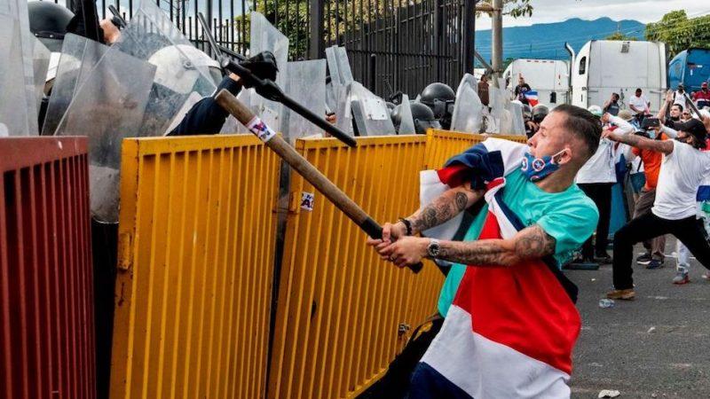 Corte de Costa Rica condena actuación de Alvarado sobre bloqueos San José. Agencias