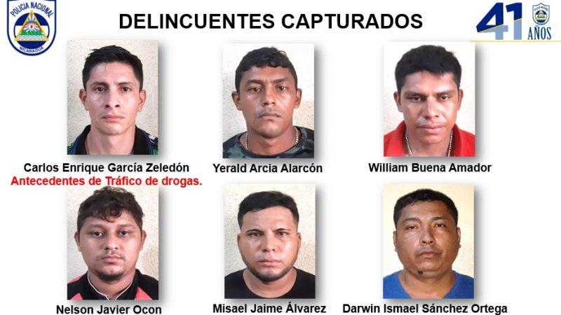Policía incauta armas y marihuana en El Rama Managua. Radio La Primerísima