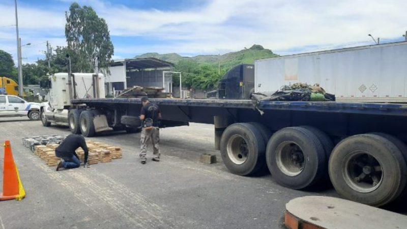 Nica transportaba droga valorada en más de 10 millones de dólares San Salvador. Agencias