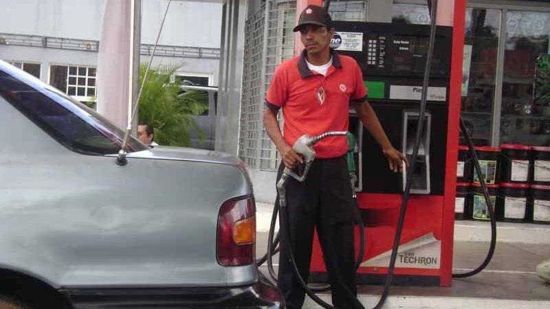 Suben precios de los combustibles Managua. Radio La Primerísima