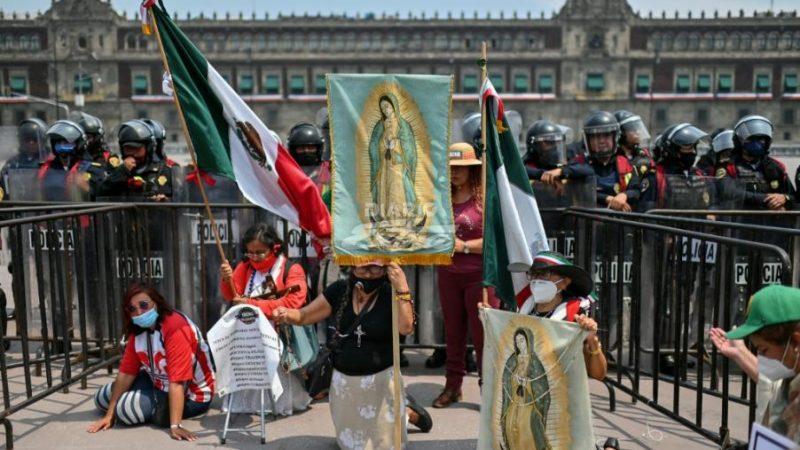 Gobierno mexicano suspende festejos en Basílica de la Virgen de Guadalupe Ciudad de México. Agencias