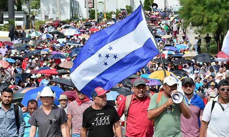 Campesinos de Honduras anuncian protestas contra 'Ley Bananera' Tegucigalpa. Prensa Latina
