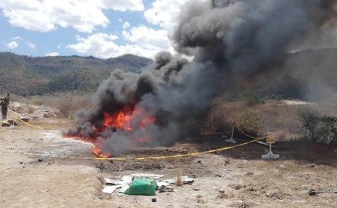 Autoridades de Honduras han incinerado más de 3 mil kilos de cocaína en 2020 Tegucigalpa. Proceso Digital