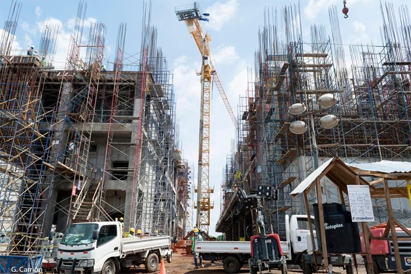 Avanza construcción del nuevo hospital en León Managua. Radio La Primerísima